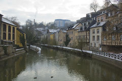 The cold Luxembourg Stock Image