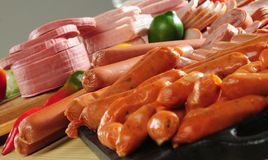 Cold meat Royalty Free Stock Image
