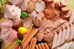 Cold meat Stock Photography