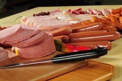 Cold meat Royalty Free Stock Images