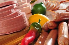 Cold meat. Stock Photography