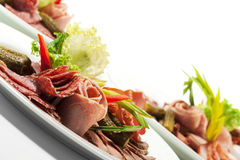 Cold Meat Dish Stock Photo