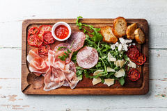 Cold meat plate Royalty Free Stock Image