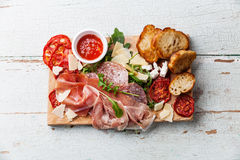 Cold meat plate Stock Images