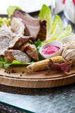 Cold meat platter Stock Photos