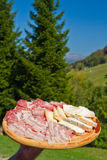 Cold meats Stock Image
