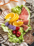 Cold meats Stock Photos