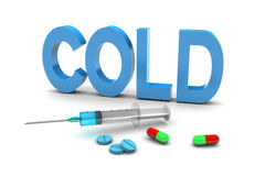 Cold Medication Royalty Free Stock Photos