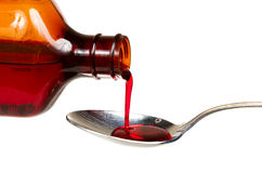 Cold medicine royalty free stock image