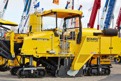 Cold milling machine BM 2000/60 of BOMAG Stock Image