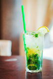 Cold mojito cocktail drink Royalty Free Stock Photography