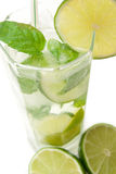 Cold Mojito drink Stock Photos