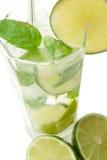 Cold Mojito drink Stock Photos