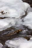 Cold Mountain Stream Stock Image