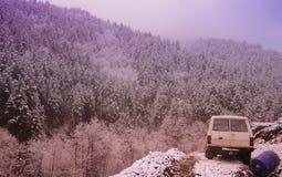 cold mountain Royalty Free Stock Photo