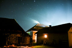 Cold Night. A photography made on 25th December 2014 Royalty Free Stock Image