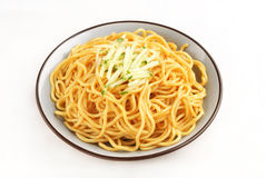 Cold noodles Stock Photo
