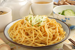 Cold noodles Stock Images