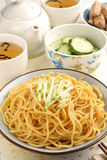 Cold noodles. Taiwan's famous food-Cold noodles royalty free stock photography