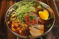 Cold Noodles Royalty Free Stock Photos