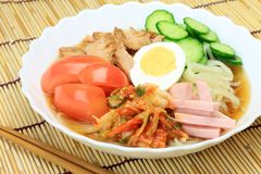 Cold noodles Royalty Free Stock Image