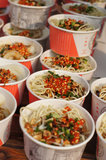 Cold noodles Royalty Free Stock Photo