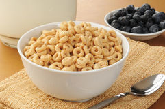 Cold oat cereal Stock Photo