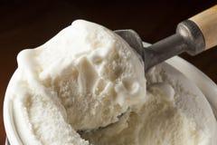 Cold Organic ice Cream Stock Photography