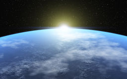 Cold Planet Royalty Free Stock Images
