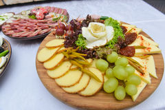 Cold plate in mediterranean style Stock Image