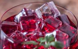 Cold pomegranate juice Stock Photo