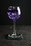 Cold purple drink Stock Photo