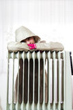 Cold Radiator Royalty Free Stock Photos
