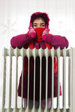 Cold Radiator Stock Image