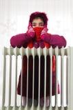 Cold Radiator Stock Image