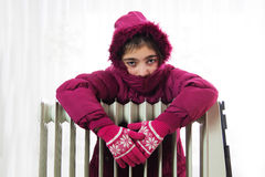Cold Radiator Stock Photography