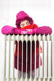 Cold Radiator Royalty Free Stock Photography