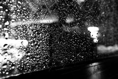 Cold rain Royalty Free Stock Photography