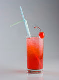Cold red cocktail Stock Photos