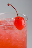 Cold red cocktail Stock Images