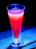 Cold red  drink  in highball glass 22 Royalty Free Stock Photos