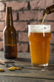 Cold Refreshing American Lager Crafter Beer Stock Photos