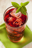 Cold Refreshing Berry Hibiscus Ice Tea Royalty Free Stock Image