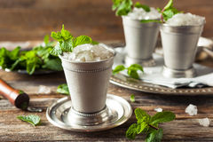Cold Refreshing Classic Mint Julep Royalty Free Stock Image