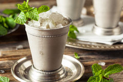 Cold Refreshing Classic Mint Julep Royalty Free Stock Images