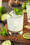 Cold Refreshing Iced Limeade Royalty Free Stock Image