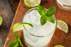 Cold Refreshing Iced Limeade Royalty Free Stock Photo