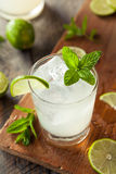 Cold Refreshing Iced Limeade Stock Image