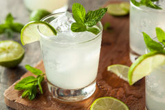 Cold Refreshing Iced Limeade Stock Photography