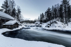 Cold river Royalty Free Stock Image